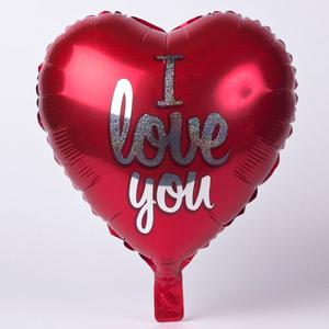 ❤️RED HEART I LOVE YOU HELIUM FOIL BALLOON VALENTINES RED NEW ❤️(hackney) bulk buys avaliable