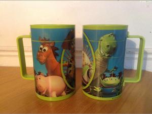 Toy Story Plastic Puzzle Cups x2