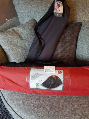 brand new 4man tent and new camping bed