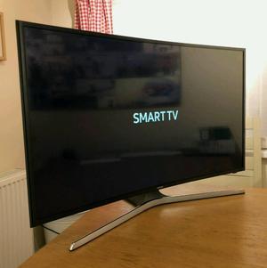 40in Samsung Curved 4K SMART HDR ULTRA HD TV WIFI FREEVIEW HD WARRANTY