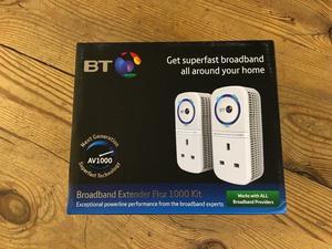 BT Broadband Extender Flex  Kit