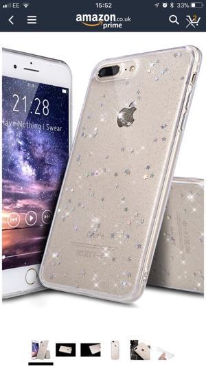 Brand new iPhone 8 Plus Star Case