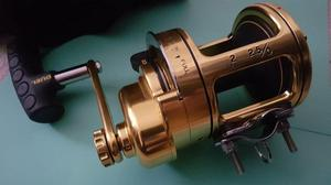 Duel 2.5l two speed reel by Antal