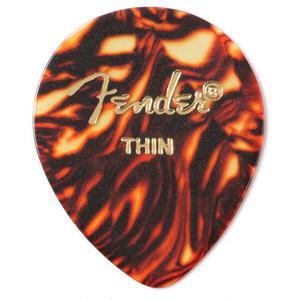 Fender 347 Shape Picks 12 Pack Shell Thin