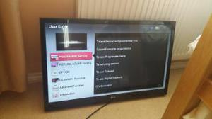 LG 32 inch smart led tv