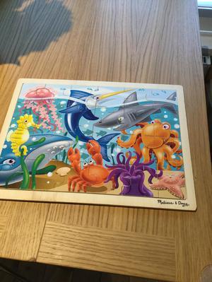 Melissa & Doug jigsaw puzzle