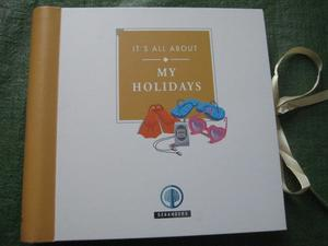 My Holidays Record Book for ONLY £2.00