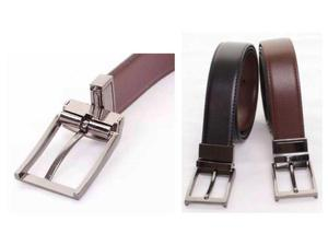 NEW MENS REAL LEATHER BELT REVERSIBLE LEICESTER in Leicester