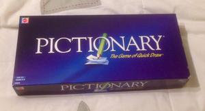 PICTIONARY Game of Quick Draw. By Mattel . Contents New and Sealed, Box Not.