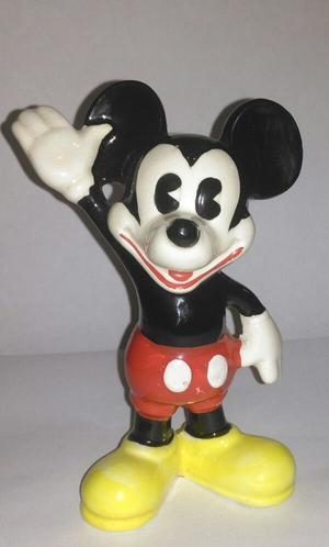 Rare vintage Walt Disney Productions ceramic Mickey Mouse ornament / figurine