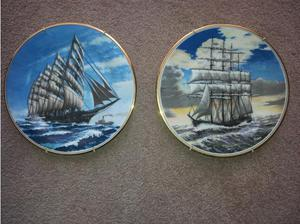 2 FINE CHINA COLLECTABLE PLATES in Tilbury