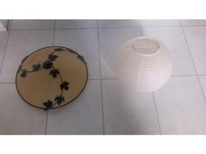 2 x PENDANT CEILING LIGHT SHADES LEICESTER in Leicester