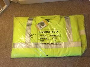 Black Knight Hydra-Flo Florescent Jacket (XL) With tags