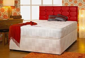 Brand new double bed and matt with free headbord can deliver