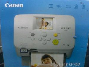 CANON SELPHY CP760 PRINTER