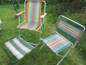 Folding camping chairs festival chairs