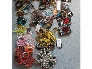 JOB LOT OF bracelets keyrings and ss necklaces in Newmarket