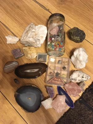 Large job lot of crystals/minerals £20 the lot