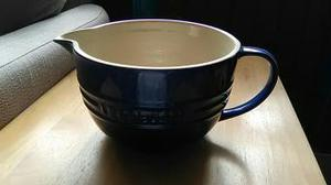 Le Cruset navy blue jug/batter bowl. 2 litres.
