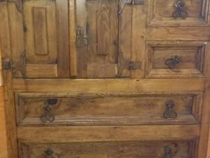 Mexican Pine Solid Wood Chest