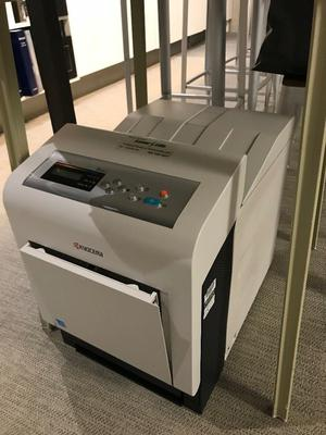 Printer, suitable for spare parts