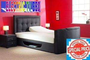 *SPECIAL OFFER*COME AND VIEW IT,TRY IT THEN BUY IT* BRAND NEW DOUBLE OTTOMAN/GASLIFT STORAGE TV BED