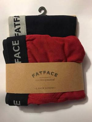 Twin Pack Fat Face Boxers