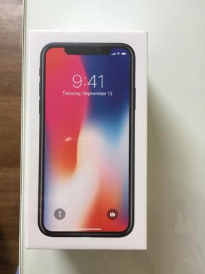 Apple iPhone X 02 brand new sealed box space grey