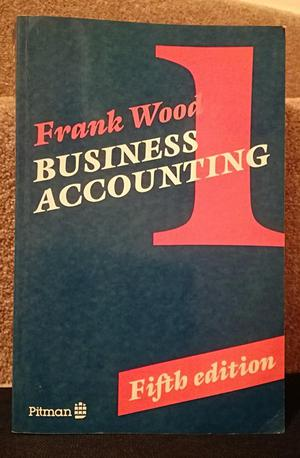 Book Frank Wood's Business Accounting 1 5th Edition
