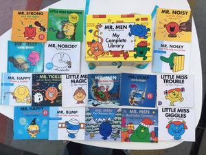 Complete Box Set Of 46 Mr Men Books - plus 17 additional books