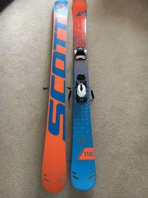 Skis with Bindings (Brand new not used), Scott 173cm