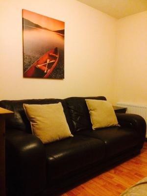 3 & 2 Seater Brown Sofas