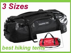 Caribee Expedition Waterproof Roll Top Gear Bag 4WD Wet Dry