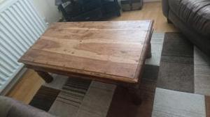 Coffee table. oak