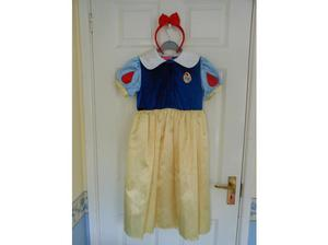 Disney Snow White Princess Dress age 5-7 / Dressing Up Toys
