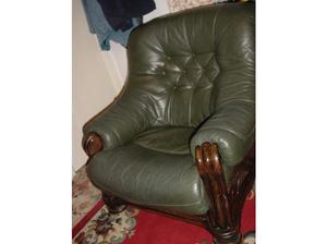 FREE 2 X Pasadena Green Bradford & Voorband armchairs. Too
