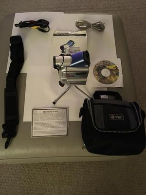 For sale Sony mini digital camcorder comes with padded bag and shoulder strap