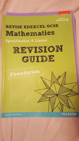 ** Free Postage **Edexcel GCSE Mathematics Specification A Linear Revision Guide