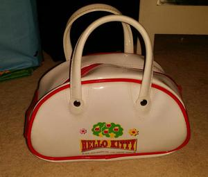 HELLO KITTY WHITE AND RED BAG