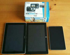 Joblot...tablets,camcoder,camera