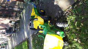 John Deere Toy Tractor and Trailer.