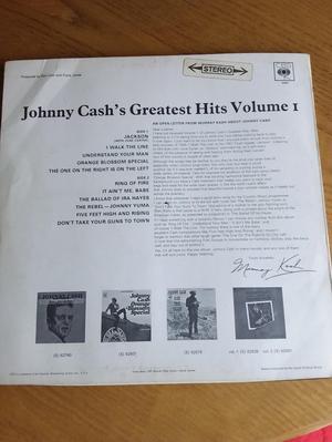 Johnny Cash Greatest Hits