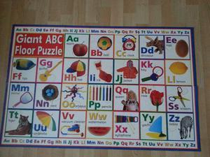 Kid's Giant Floor Puzzle ABC