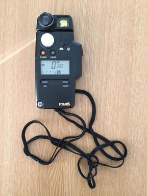 Polaris dual 5 Flash/Light Meter