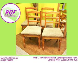 SALE NOW ON!! Set Of 4 Dining Chairs - Local Delivery £19