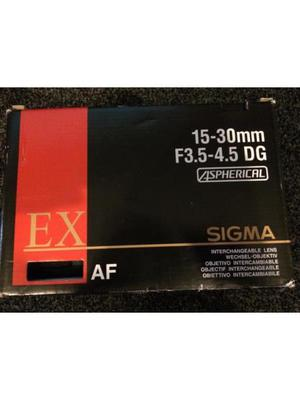 Sigma mm F DG Aspherical lens NIKON Fit