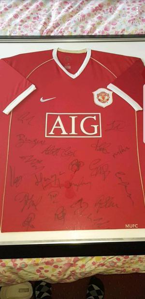 Signed man Utd jersey