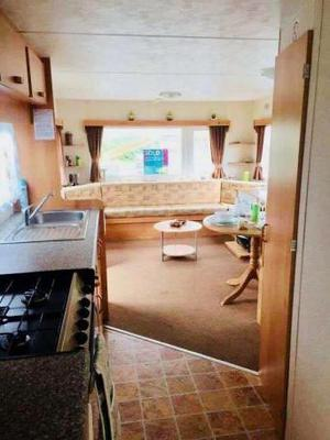 **Static Caravan For Sale** Located right on the beach!