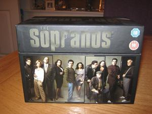 The Sopranos - The complete series box set - Age 18 - Perfect as new condition