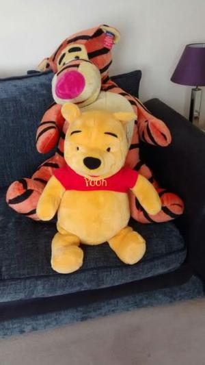 Winnie The Pooh and Tigger